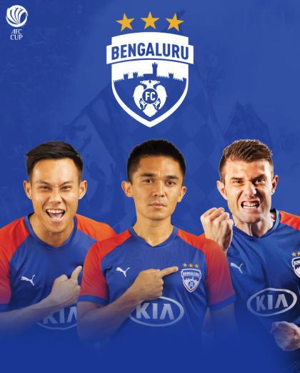 JSW Bengaluru FC (IND) vs Winner of Defenders FC (SRI) / Paro United (BHU)