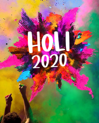 Holi 2020 at Taj West End