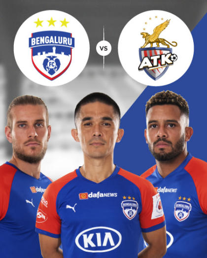 Hero ISL 2019-20: Semi Final  - Bengaluru FC vs ATK