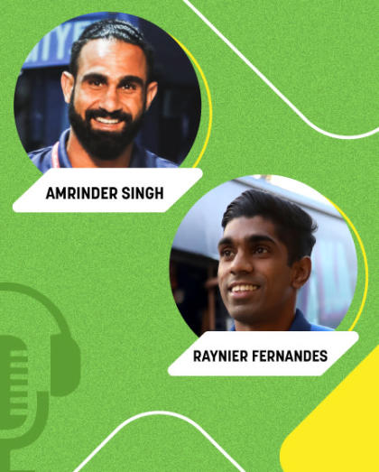 Off The Field with Saru & Baru ft. Amrinder Singh and Raynier Fernandes