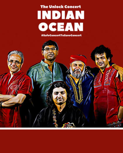 The Unlock Concert   Indian Ocean Performing Live
