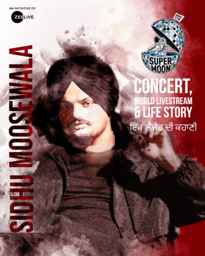 Supermoon Ft Sidhu Moosewala World Livestream Concert & Life Story -  For Indian Audience