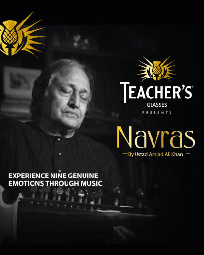 Teacher's Glasses Presents Navras By Ustad Amjad Ali Khan