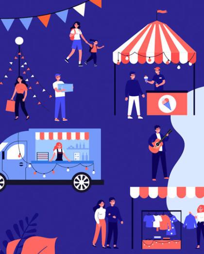 The Dineout SteppinOut Night Market