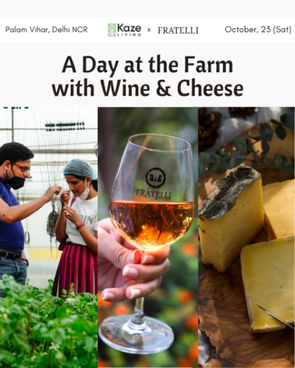 Fratelli Wines and Kaze Living - A Day at the Farm
