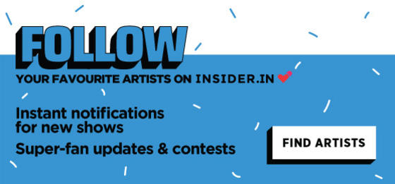 Follow your favourite artists on Insider.in