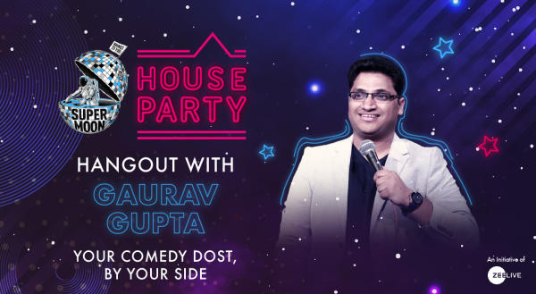 Hangout with Gaurav Gupta @ Supermoon House