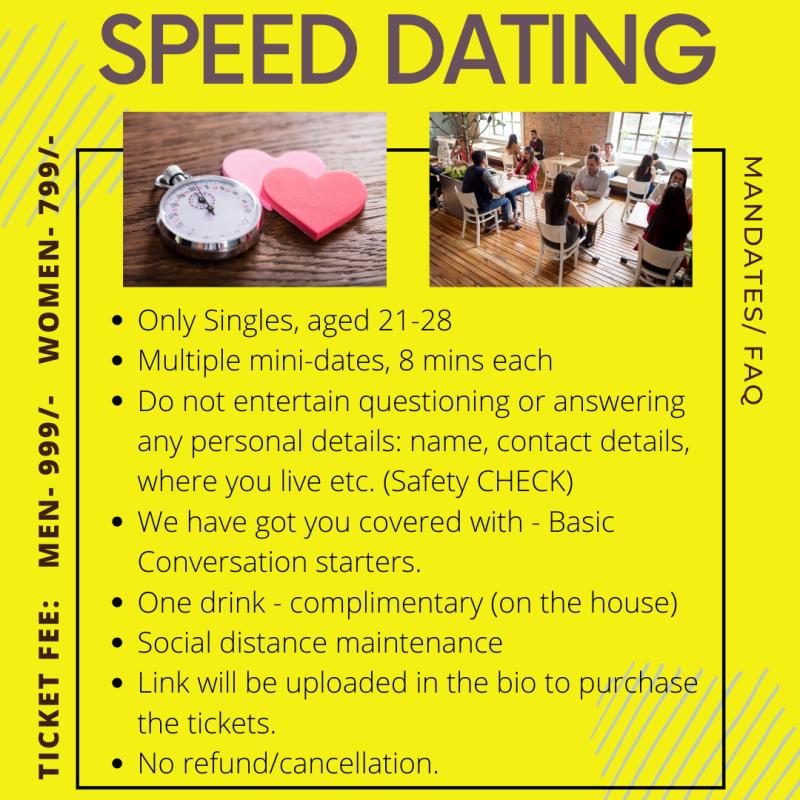 speed dating i skatelöv)