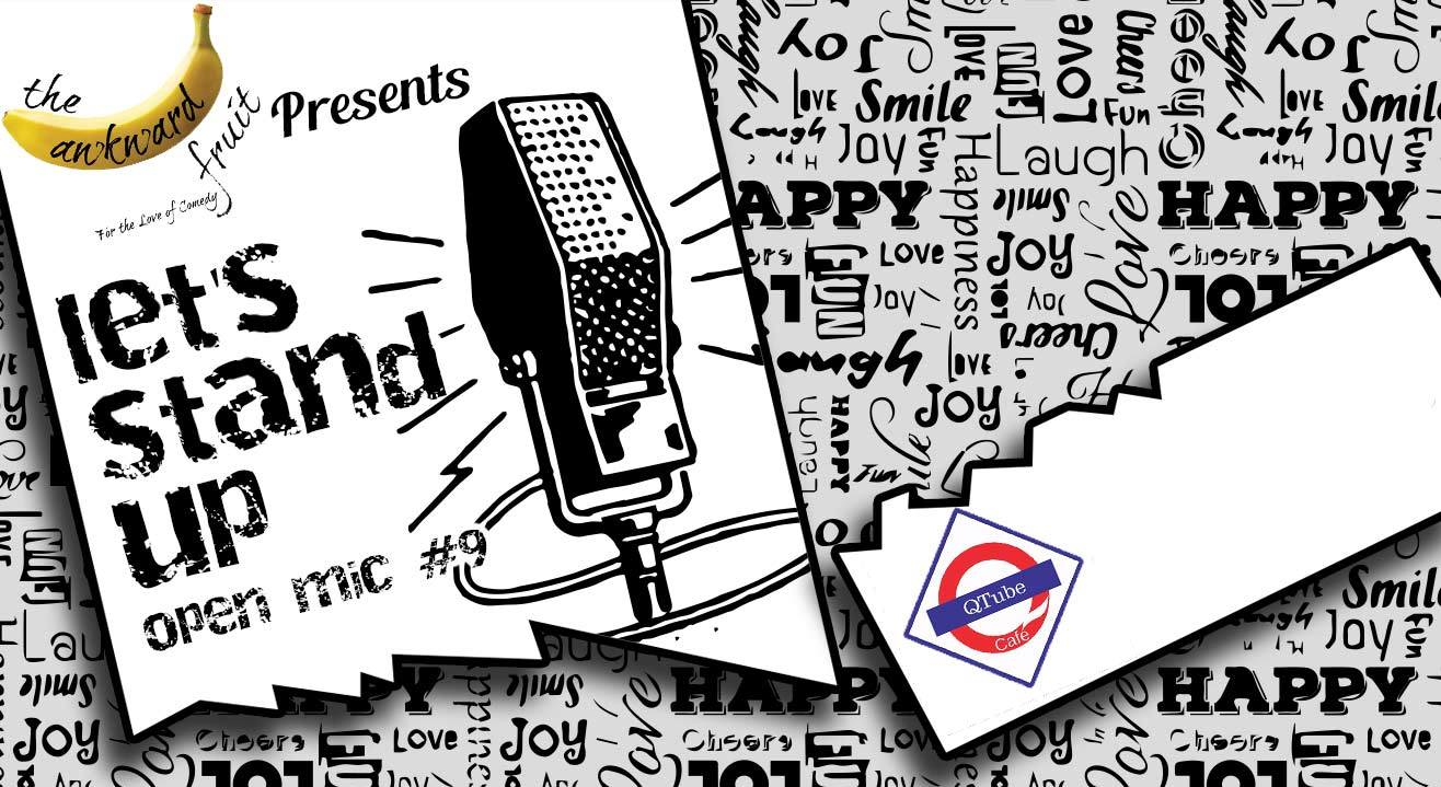 Let's Stand Up Open Mic #9