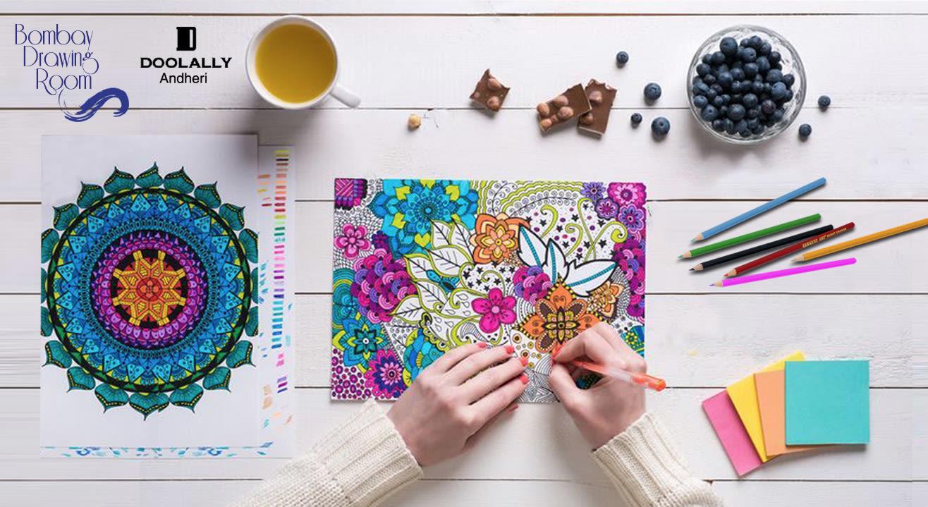 Zen Coloring Saturdays V