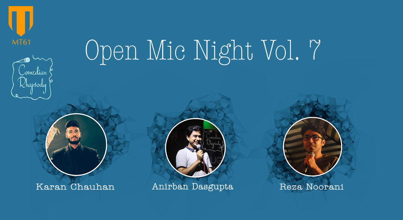 Comedian Rhapsody Open Mic Night Vol. 7