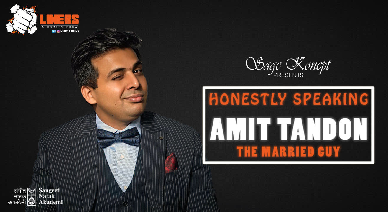 Punchliners: Stand Up Comedy Show feat. Amit Tandon in Lucknow