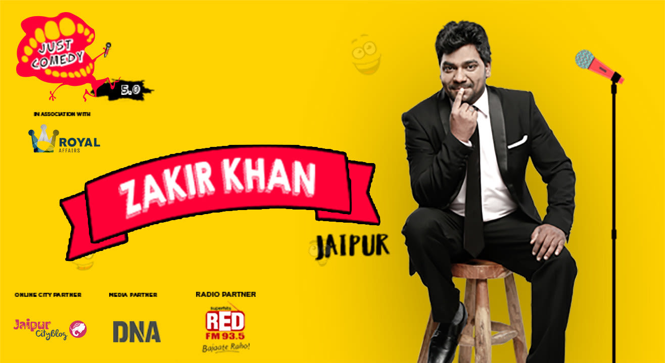 Just Comedy presents Zakir Khan Live