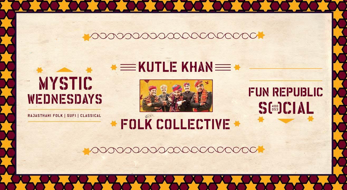 Social Presents Mystic Wednesdays ft. Kutle Khan Folk Collective