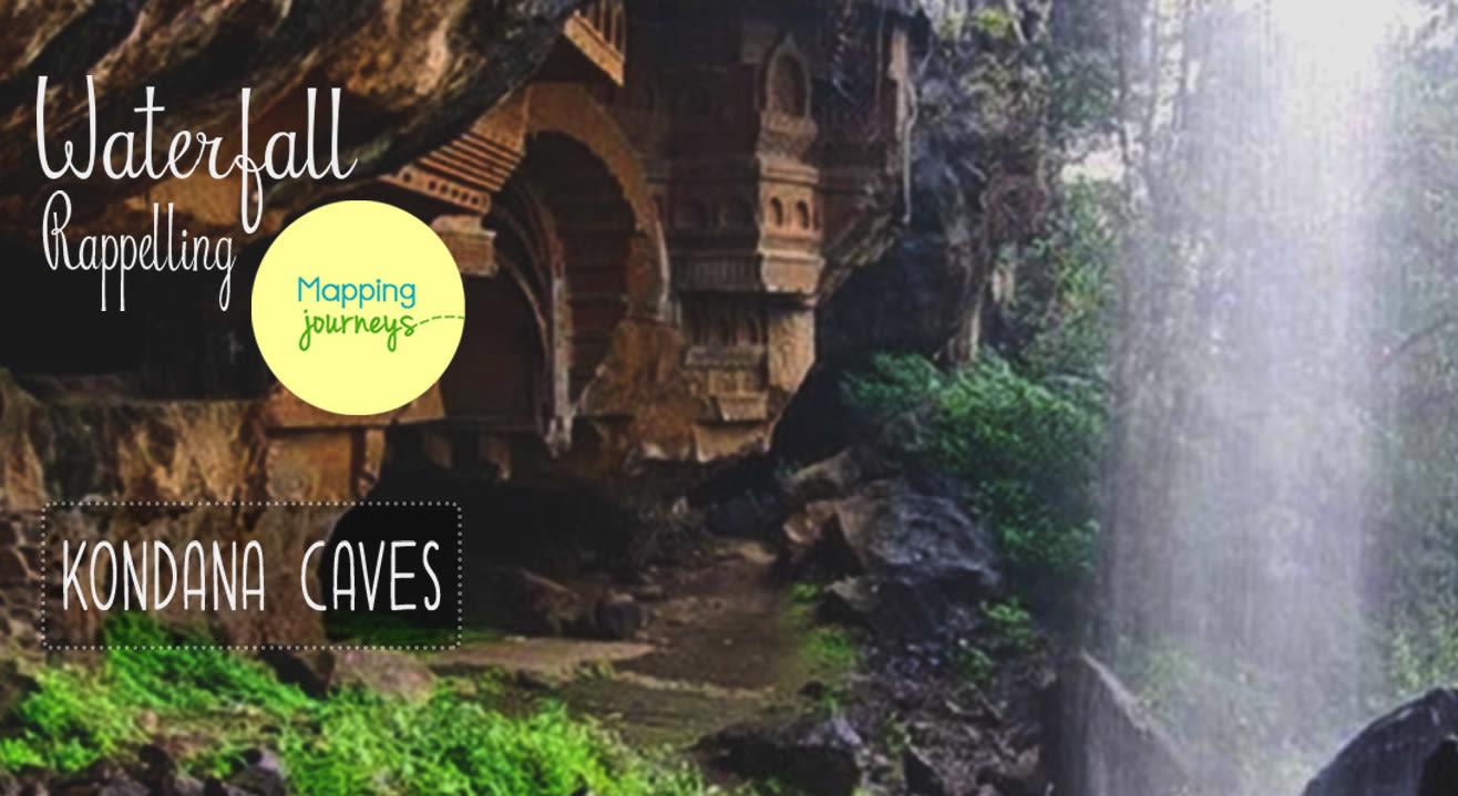 Waterfall Rappelling - Kondana Caves
