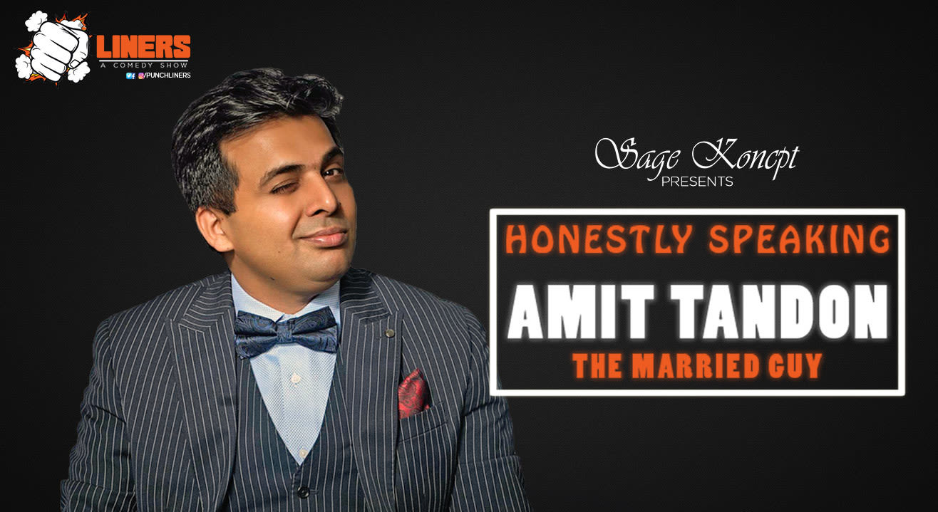 Punchliners: Stand Up Comedy Show feat. Amit Tandon in Ludhiana
