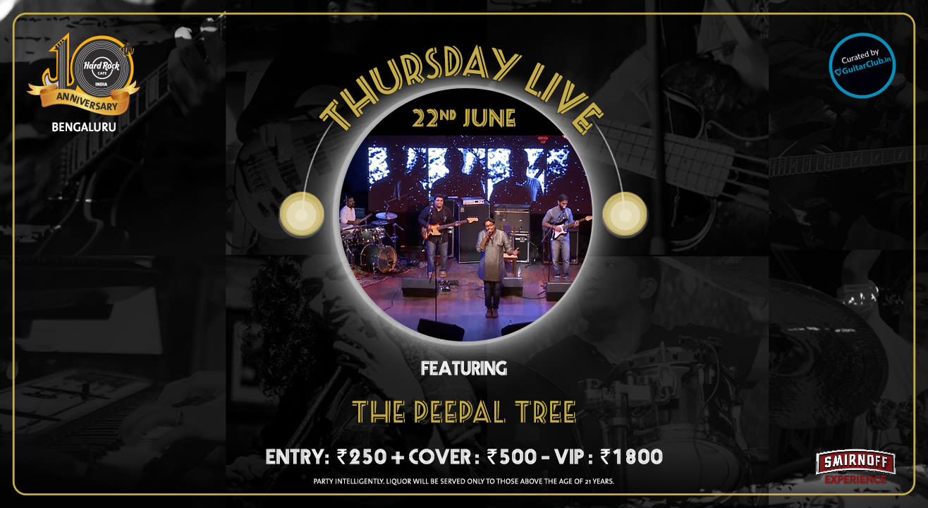 The Peepal Tree - Thursday Live!