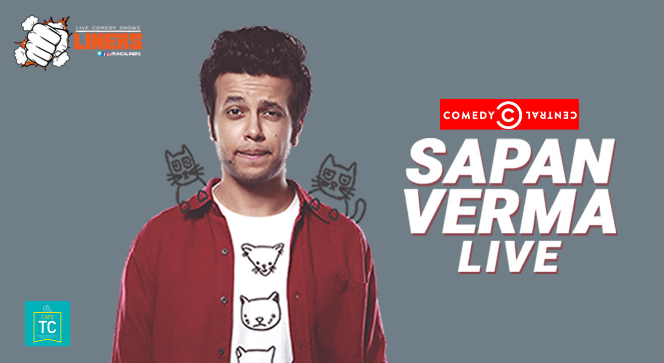 Punchliners: Standup Comedy Show Ft. Sapan Verma at Turquoise Cottage, Delhi