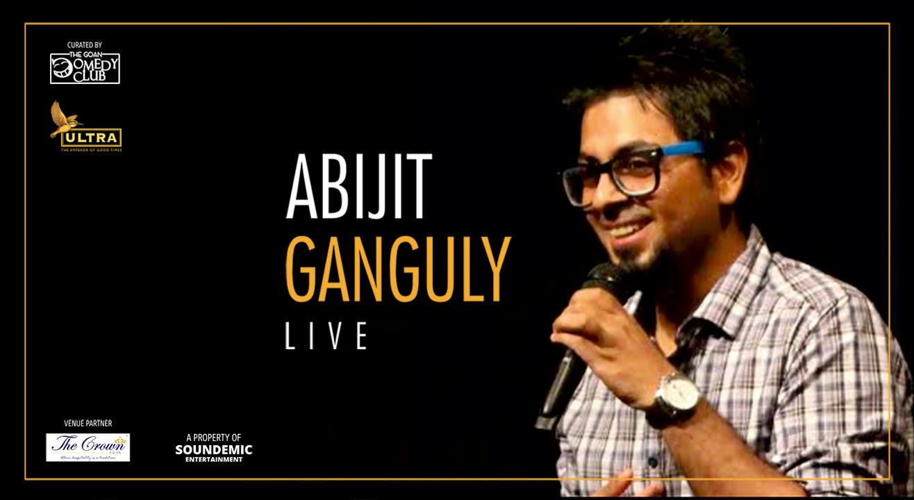 The Goan Comedy Club Presents Abijit Ganguly Live in Goa
