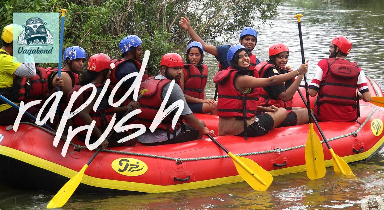 Rapid Rush (River Rafting Camp at Kolad)