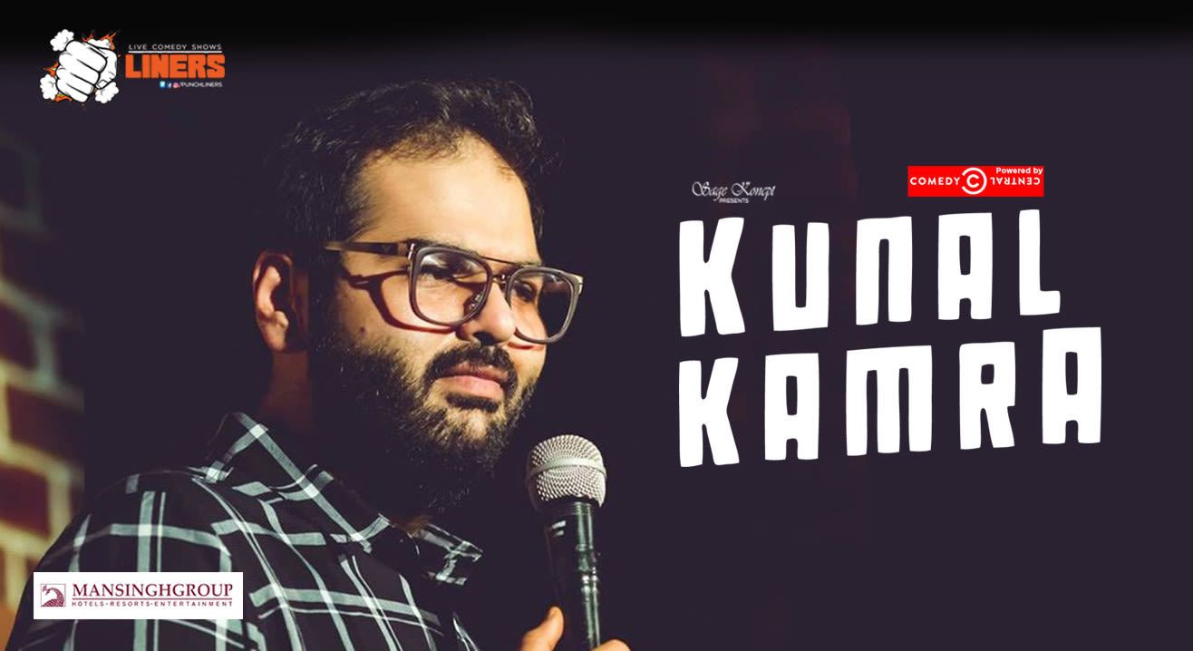 Punchliners: Standup Comedy Show ft. Kunal Kamra in Jaipur