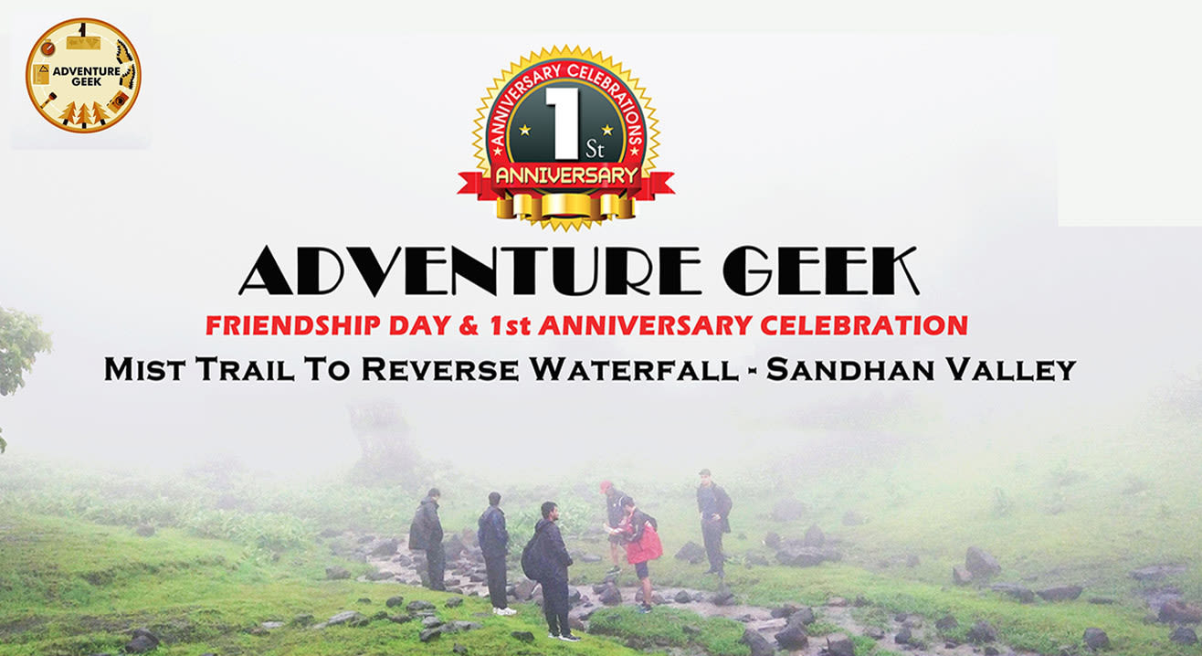 Mist Walk to Reverse Waterfall and Glimpse to Sandhan Valley