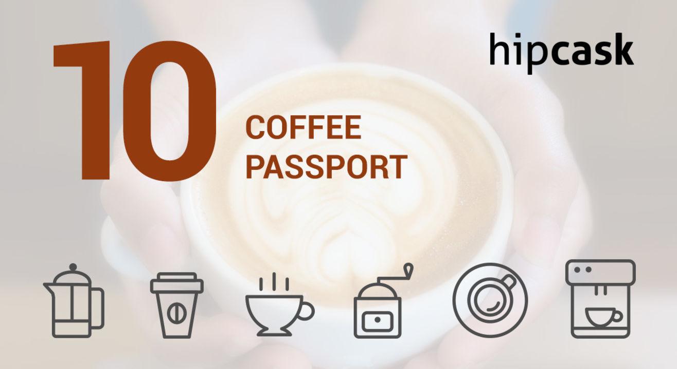 Hipcask Coffee Passport: India's first multi brand coffee card!