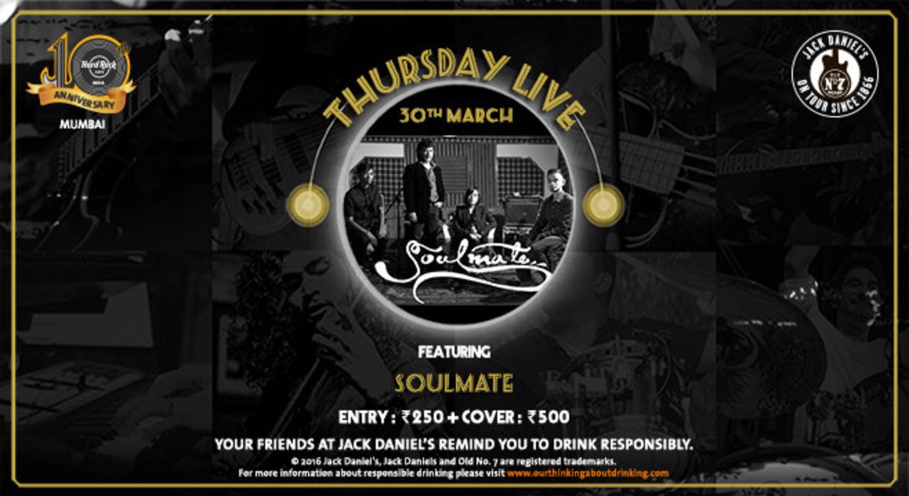 Thursday Live: Soulmate
