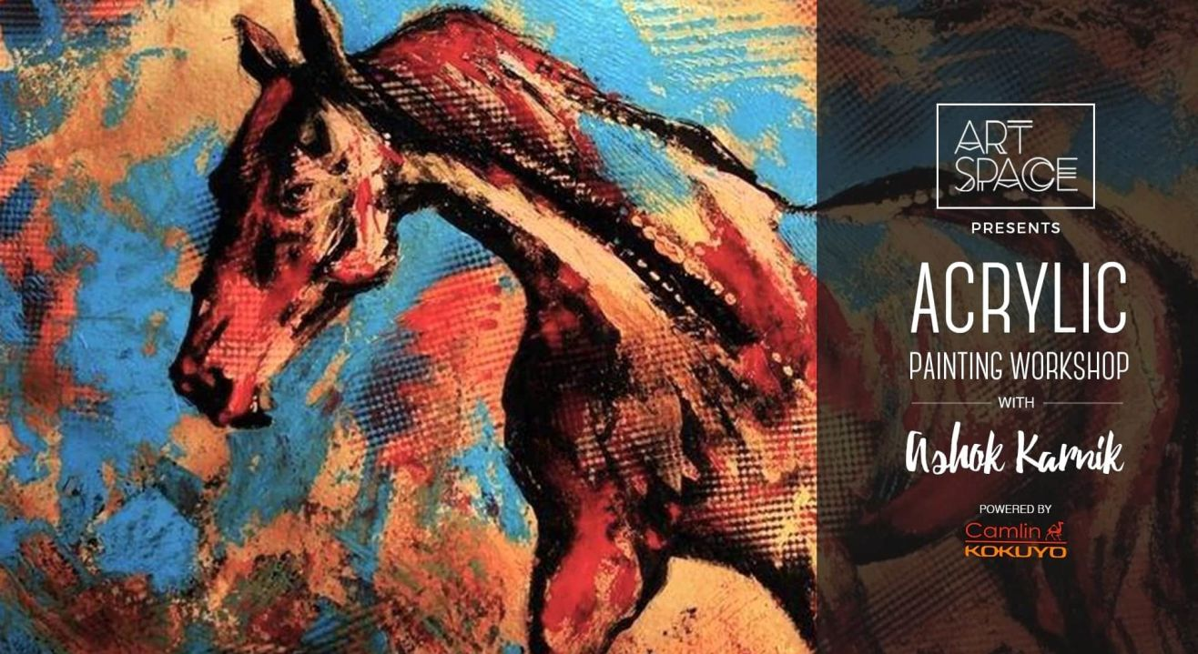 Acrylic Painting Workshop by Ashok Karnik