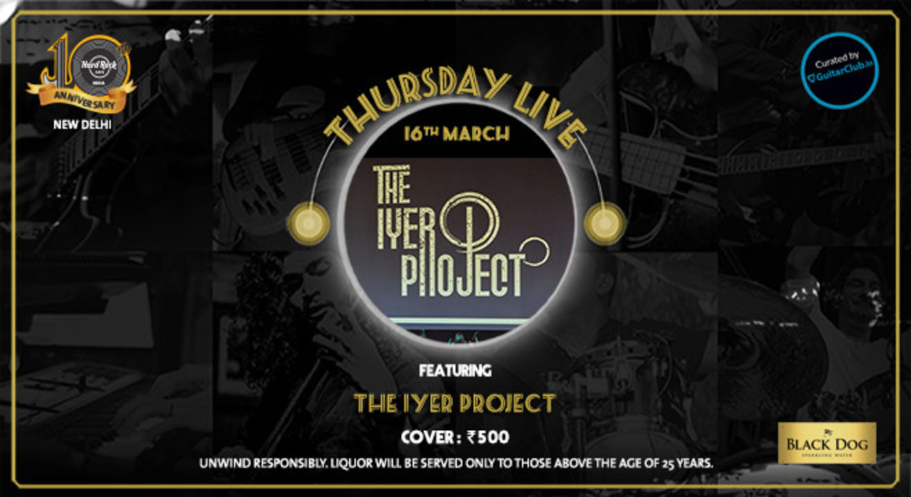 The Iyer Project Live! Opening act by Motif Of A Cube - Thursday Live!