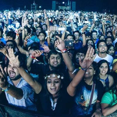 Ready to play at Bacardi NH7 Weekender?