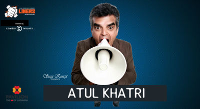 Punchliners: Stand Up Comedy Show feat. Atul Khatri in Ludhiana