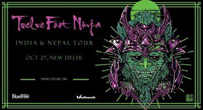 Twelve Foot Ninja India Tour, Delhi