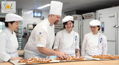 Le Cordon Bleu Patisserie workshop & Paris Tour