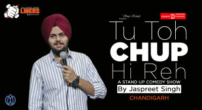 Punchliners: Standup Comedy Show ft. Jaspreet Singh live in Chandigarh