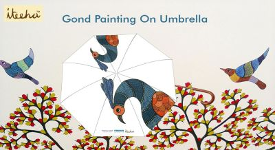 Gond Painting on Umbrella Workshop