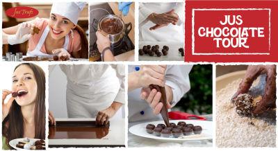 The Jus'Chocolate Tour   Saturdays