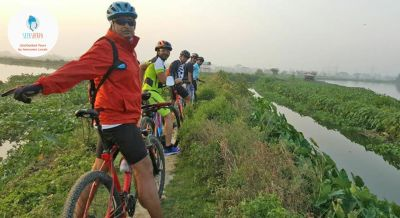 Cycle In The Wetlands of Kolkata With a Visit to An Organic Farm