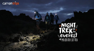 Night Trek To The Everest of Maharashtra