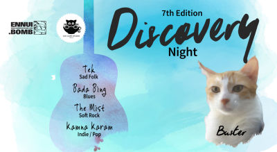 Discovery Night Chapter VII at Cat Café Studio