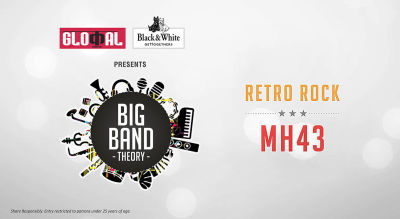 Live Retro Rock Night with MH43 at Glocal Junction Worli
