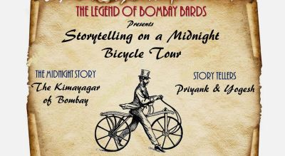 The Kimayagar of Bombay - Story Telling on a Midnight Cycle Tour (Colaba) - With Priyank Deshmukh, Yogesh Chande