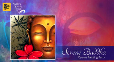 Serene Buddha - Canvas Painting Party