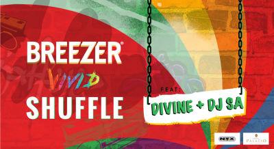 Breezer Vivid Shuffle ft. Divine + DJ SA, Guwahati