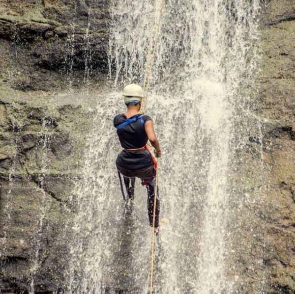 Fancy Walking Down a Waterfall? Say Hello To Rappelling