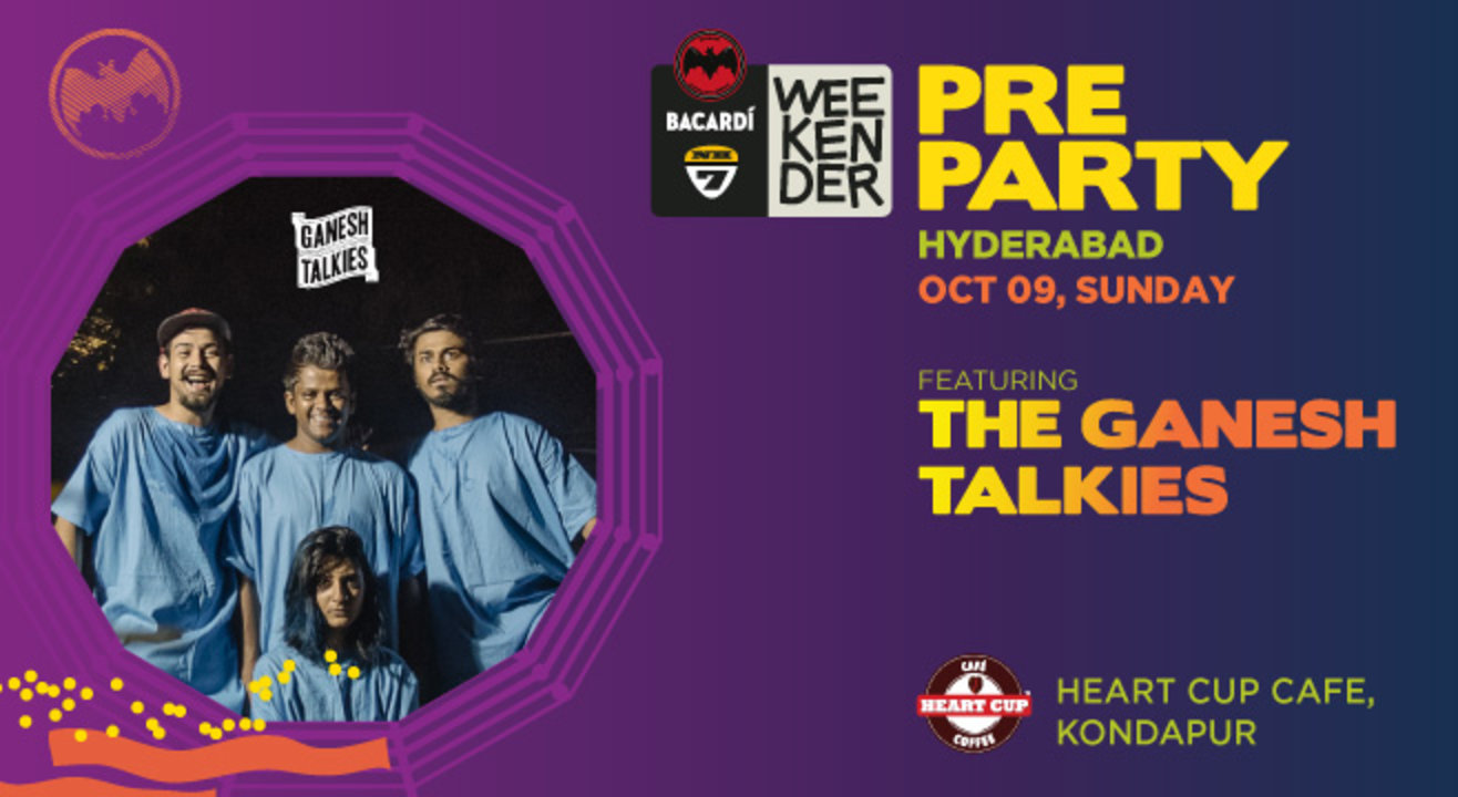 Bacardi NH7 Weekender Pre Party ft Ganesh Talkies