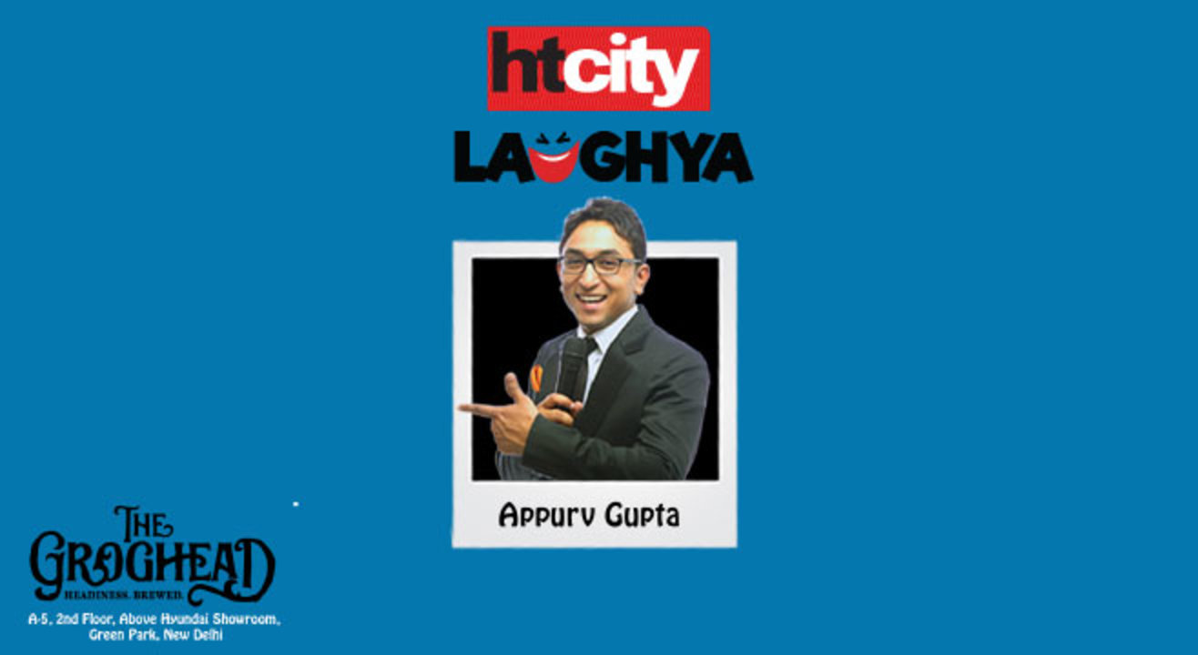HT City Laughya presents Appurv Gupta