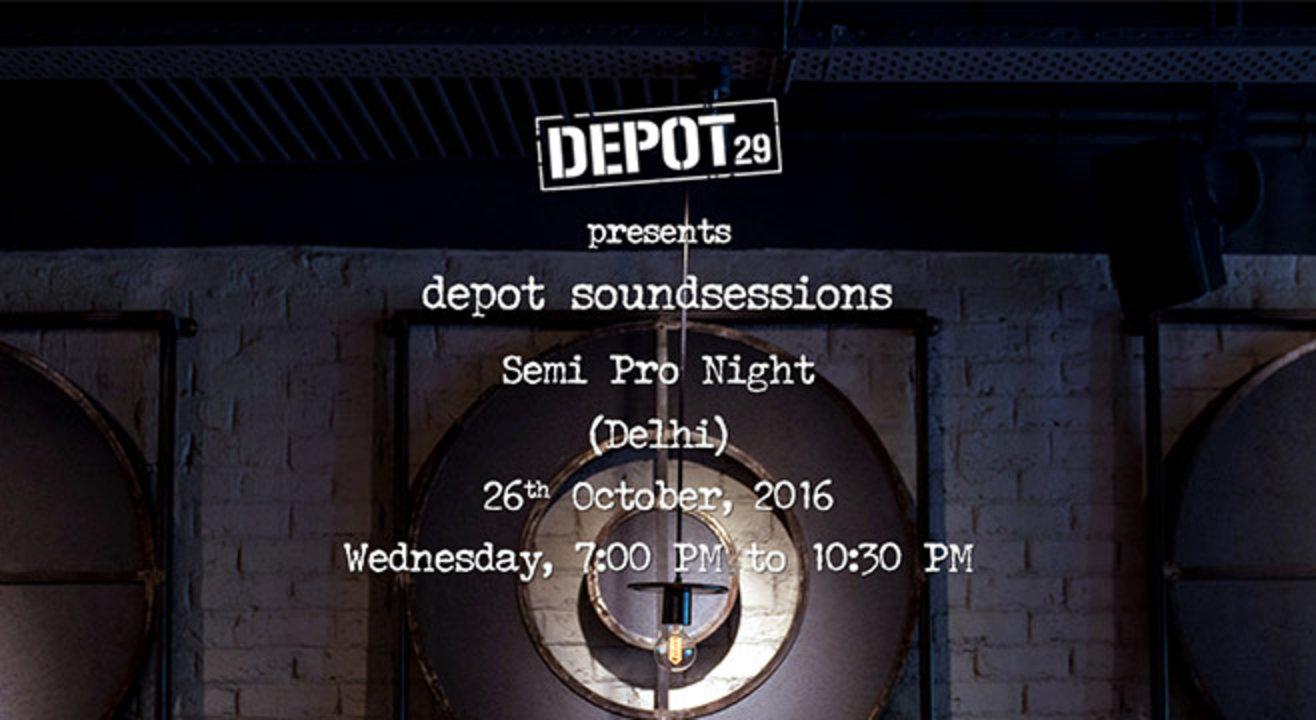 Depot 29 Presents Depotsoundsessions