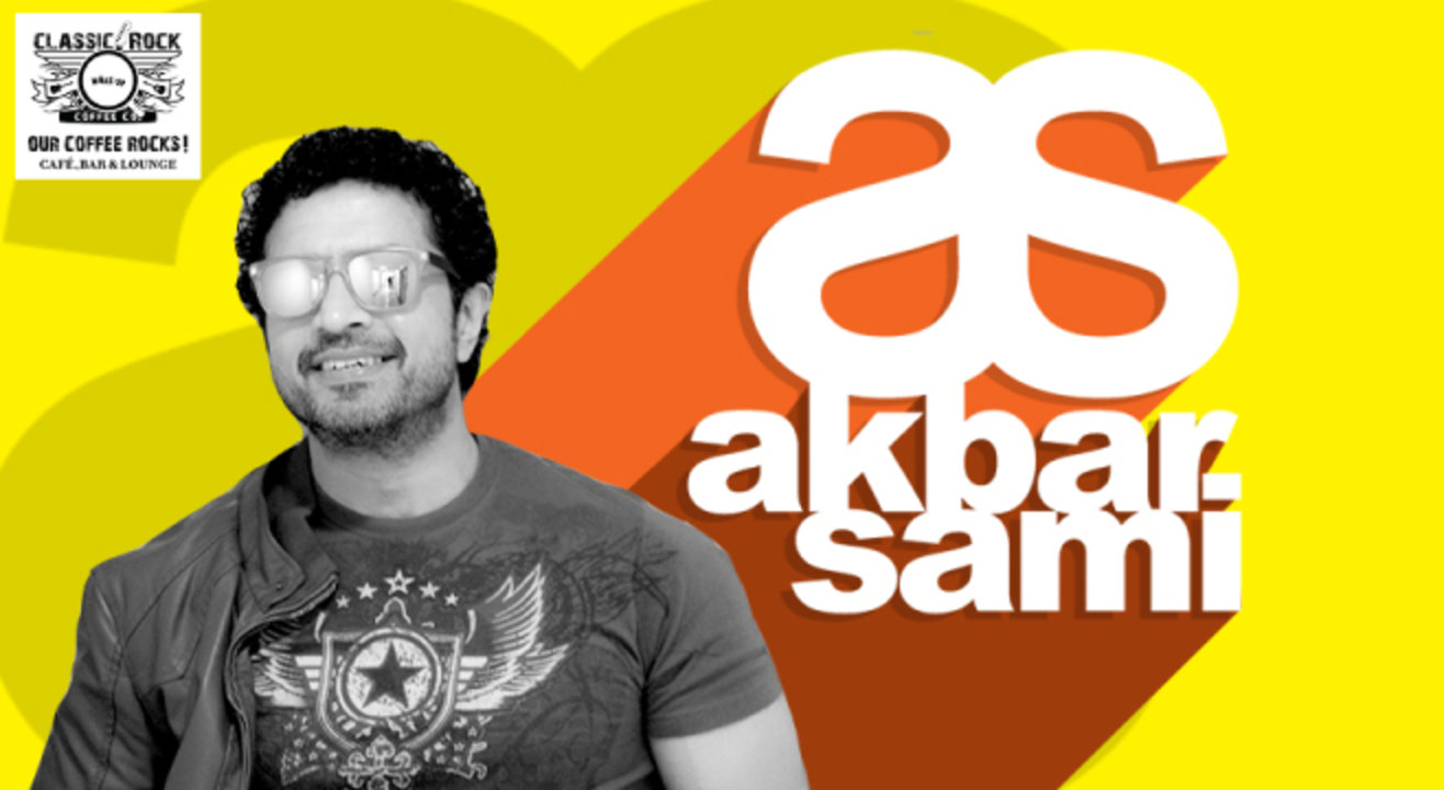 Classic Rock Coffee Co presents Akbar Sami