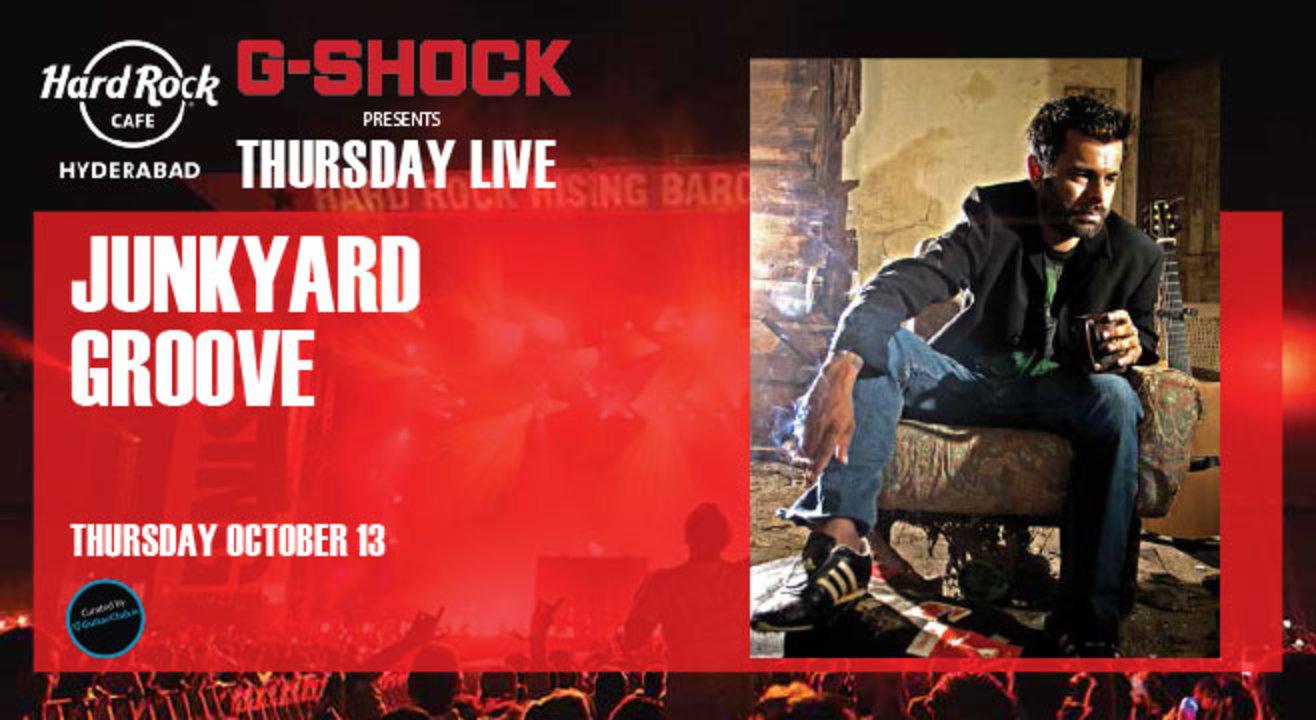 Junkyard Groove. Presented by G-Shock